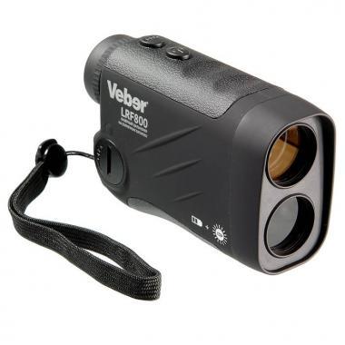 Лазерный дальномер Veber 6x25 LRF800 black