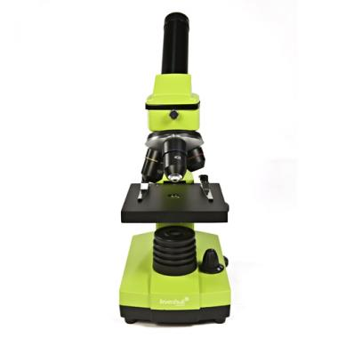 Микроскоп Levenhuk Rainbow 2L NG Lime\Лайм