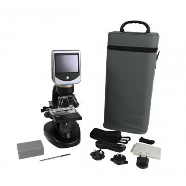 Цифровой микроскоп Celestron с LCD-экраном Deluxe
