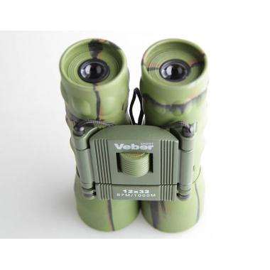 Бинокль Veber Sport БН 12х32, камуфляж