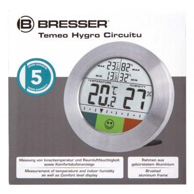 Метеостанция Bresser Temeo Hygro Circuitu, серебристая