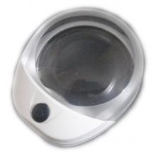 Лупа Kromatech настольная контактная 10x, 60 мм, с подсветкой (1 LED) PW6010C