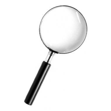 Лупа Kromatech ручная круглая 2,5х, 60 мм, в металлической оправе