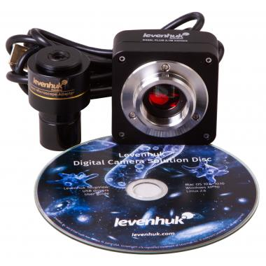 Микроскоп цифровой Levenhuk D400T, 3,1 Мпикс, тринокулярный