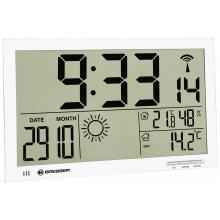 Метеостанция (настенные часы) Bresser MyTime Jumbo LCD, белая Q11