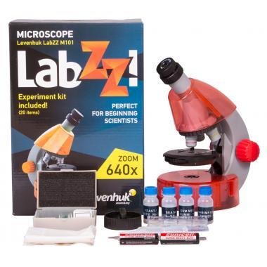 Микроскоп Levenhuk LabZZ M101 Orange\Апельсин