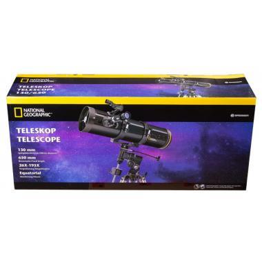 Телескоп Bresser National Geographic 130/650 EQ