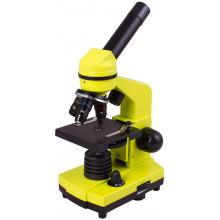 Микроскоп Levenhuk Rainbow 2L Lime\Лайм Q99