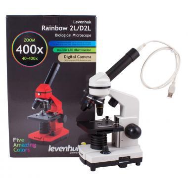 Микроскоп Levenhuk Rainbow D2L Moonstone\Лунный камень