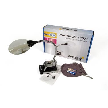 Лупа Levenhuk Zeno 1000, 2,5/5x, 88/21 мм, 2 LED
