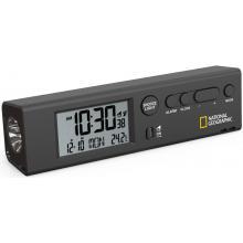 Часы Bresser National Geographic World Time с термометром и фонариком