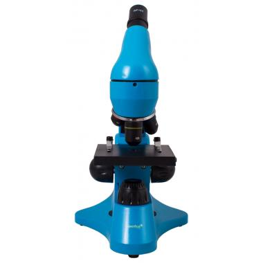 Микроскоп Levenhuk Rainbow 50L Azure\Лазурь
