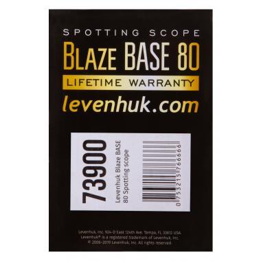 Зрительная труба Levenhuk Blaze BASE 80