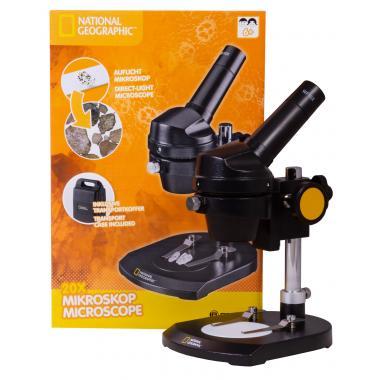 Микроскоп Bresser National Geographic 20x, монокулярный