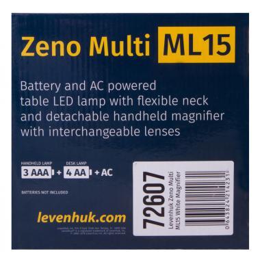 Мультилупа Levenhuk Zeno Multi ML15, белая