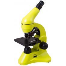 Микроскоп Levenhuk Rainbow 50L Lime\Лайм Q98