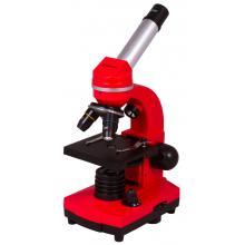 Микроскоп Bresser Junior Biolux SEL 40–1600x, красный Q9