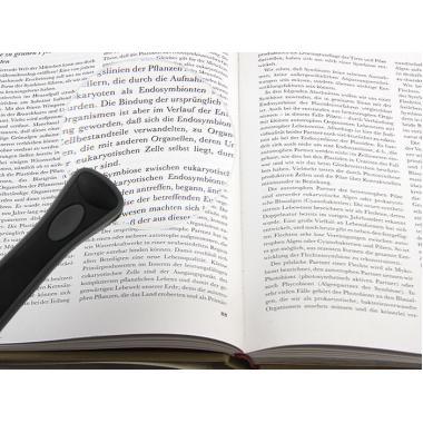 Лупа c ручкой и подсветкой Veber MG2B-3, 2.5x, 90 мм