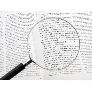 Лупа с ручкой Veber 1028, 3x, 100 мм