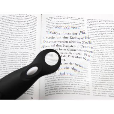 Лупа с ручкой и подсветкой Veber 789-90, 3х-6х, 90 мм