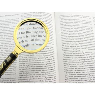 Лупа с ручкой сувенирная Veber L70, 7х, 70 мм
