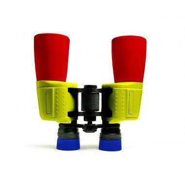 Бинокль Levenhuk Football 210R, красно-сине-желтый