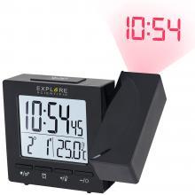 Часы цифровые Explore Scientific с проектором и термометром, черные Q1